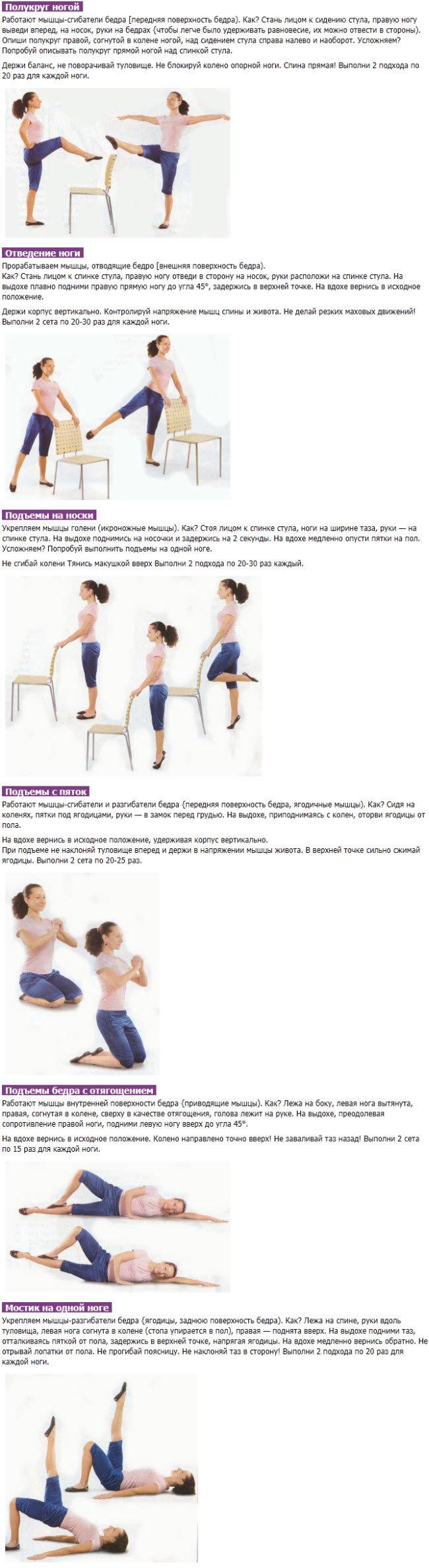 Как быстро похудеть в домашних условиях за неделю в ногах