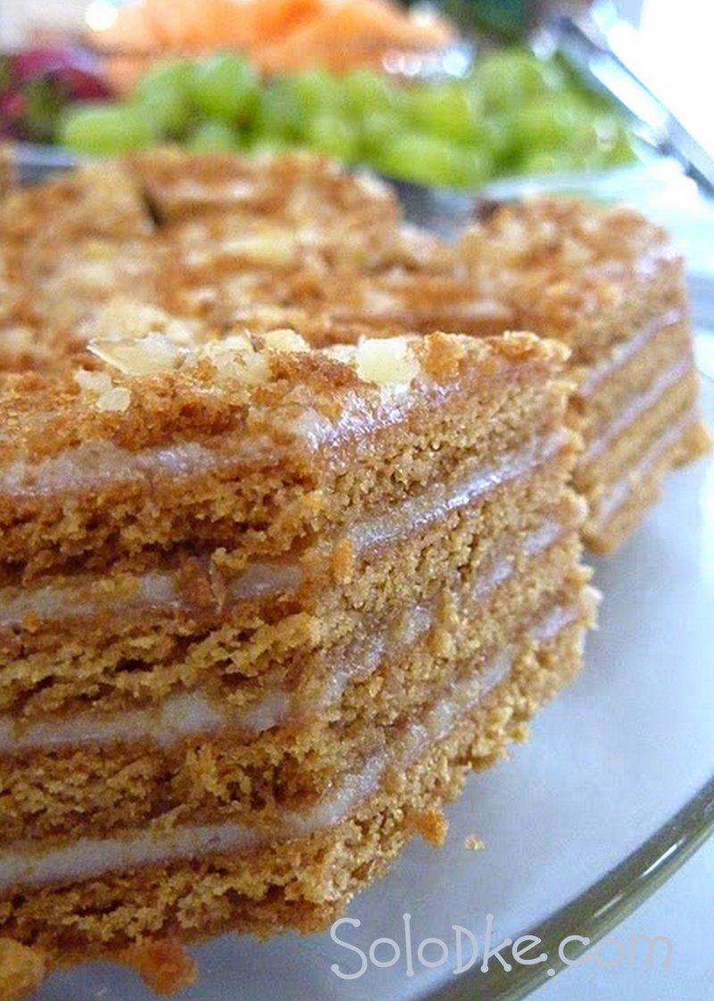 Торт сметанник рецепт классический вкусные торты