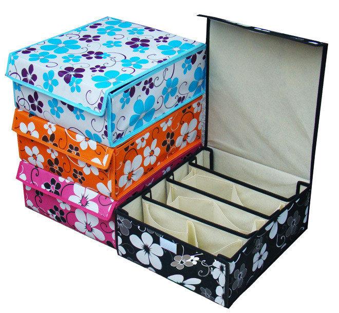 Коробка для хранения белья сделать своими руками
