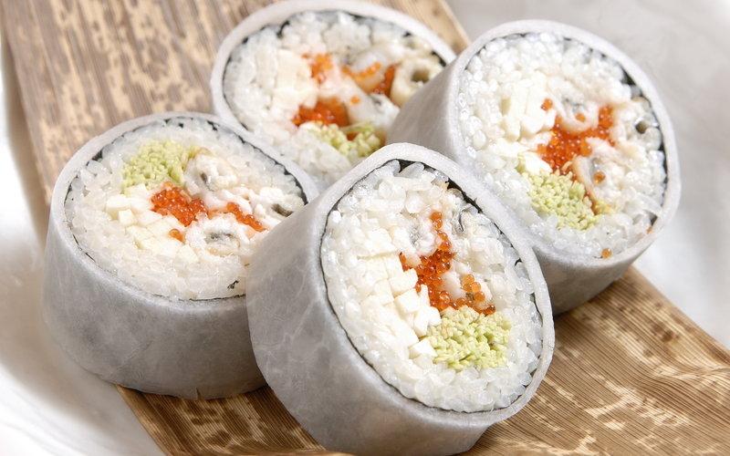 Правильный риса суши