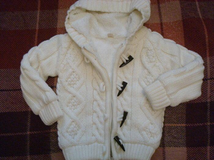 Вязание спицами куртки на детей