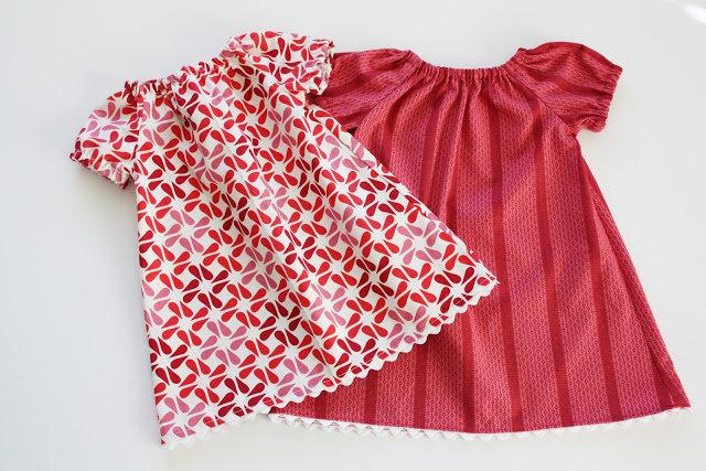 Из чего сшить ребенку платье
