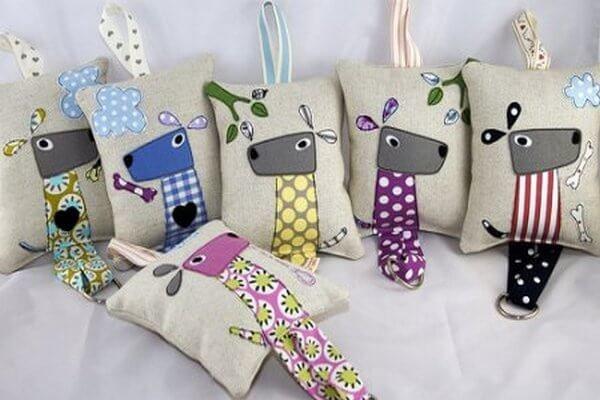 Подушки с собаками ручной работы - карточка от пользователя Anastasia Shumakova в Яндекс.Коллекциях