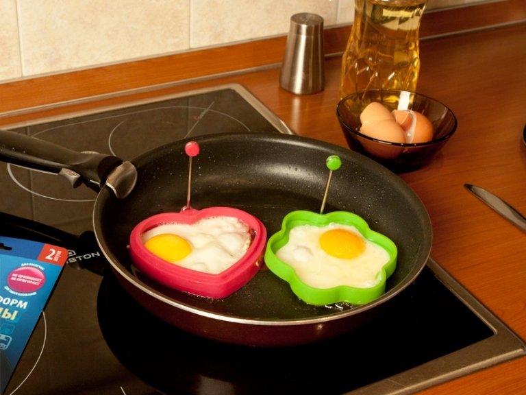 Как сделать яичницу глазунью
