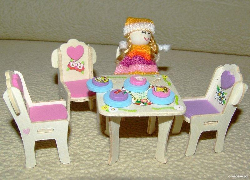 Как сделать мебель для больших кукол 112