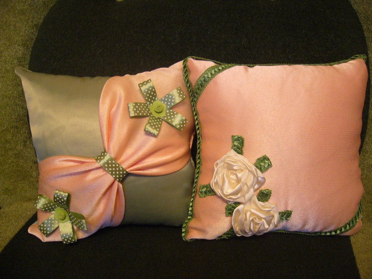 Как сшить красивую подушку своими руками 66