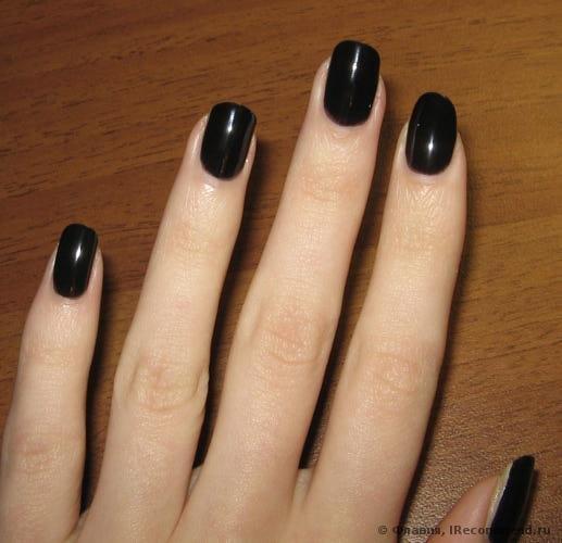 Лак для ногтей черный