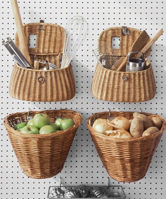 На кухню своими руками корзинка