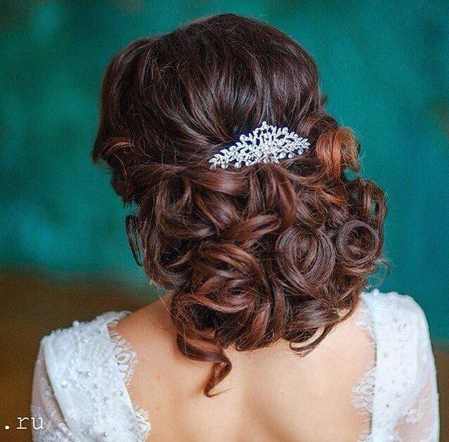 Свадебные прически со схемами