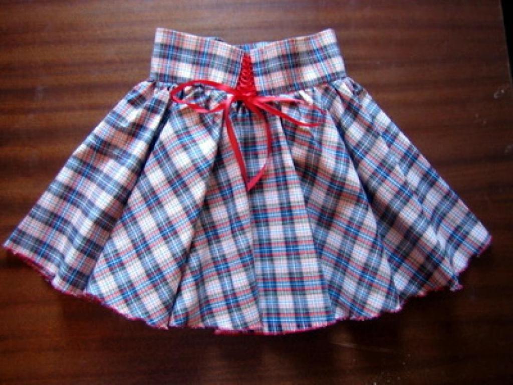 Сшить юбку детскую фото 36