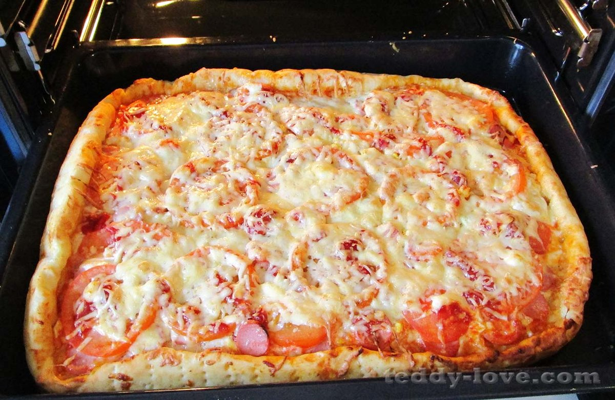 Пицца своими руками рецепты с фото 73