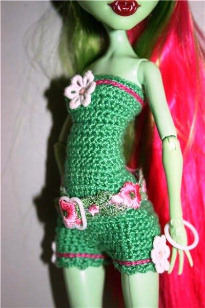Как сделать платье для кукол монстер хай