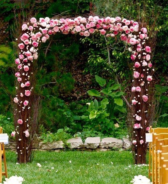 Цветочные арки своими руками фото 6