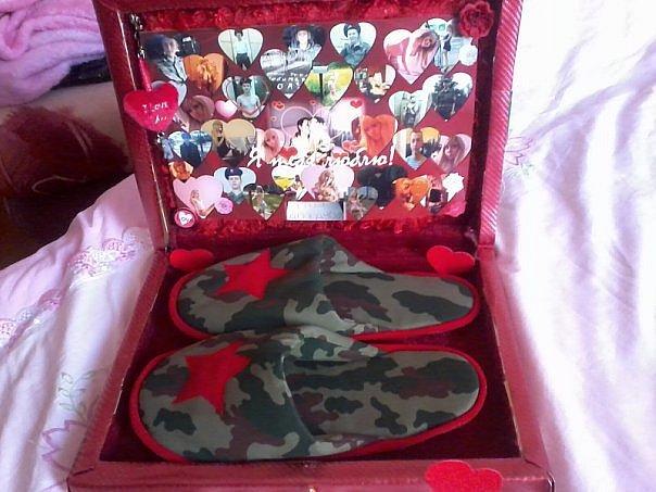 Оригинальные подарки любимому в армию 58