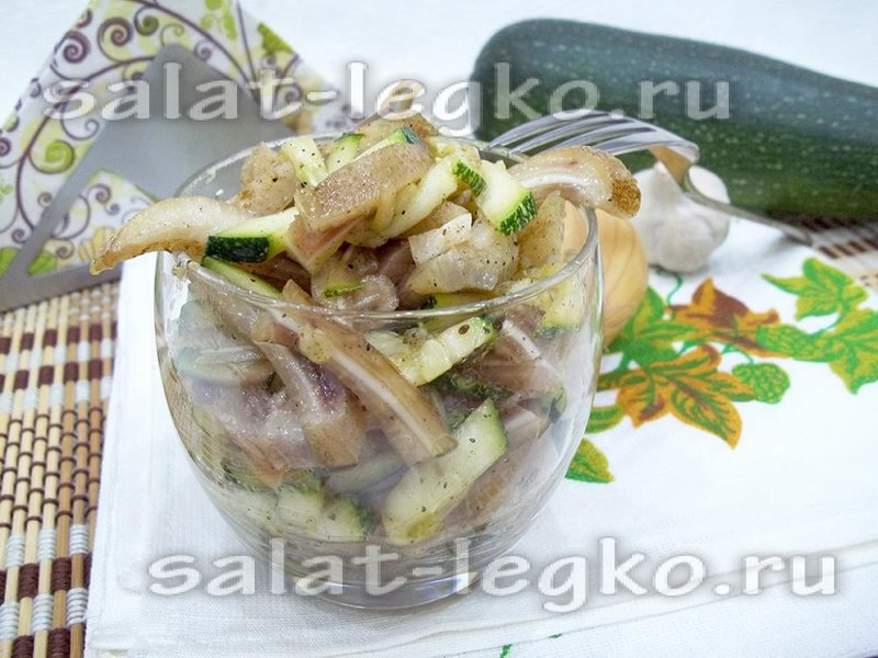 Салат из свинины и огурца рецепты простые