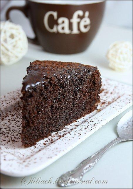 Пирог шоколадный с какао рецепт с