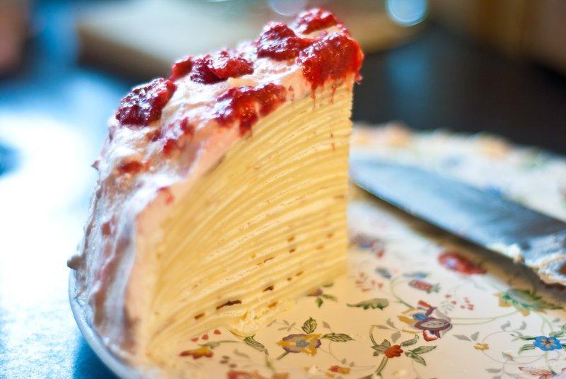 Самый вкусный блинный торт рецепт