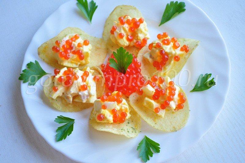 Закуски из икры рецепты