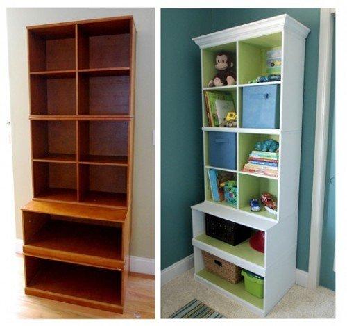Как преобразить старый шкаф своими руками фото до и после картинки 59