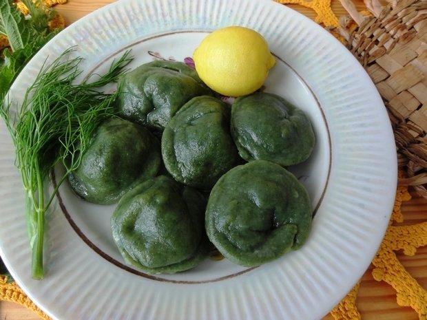 Рецепт пельменей из крапивы