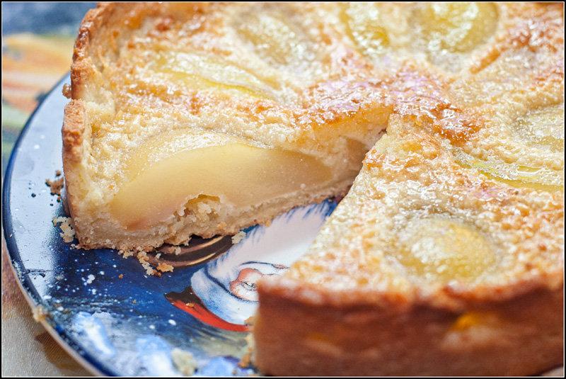 Грушевые пироги с
