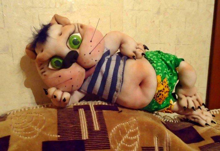 Кукла из капрона: Растаман, куклы своими руками