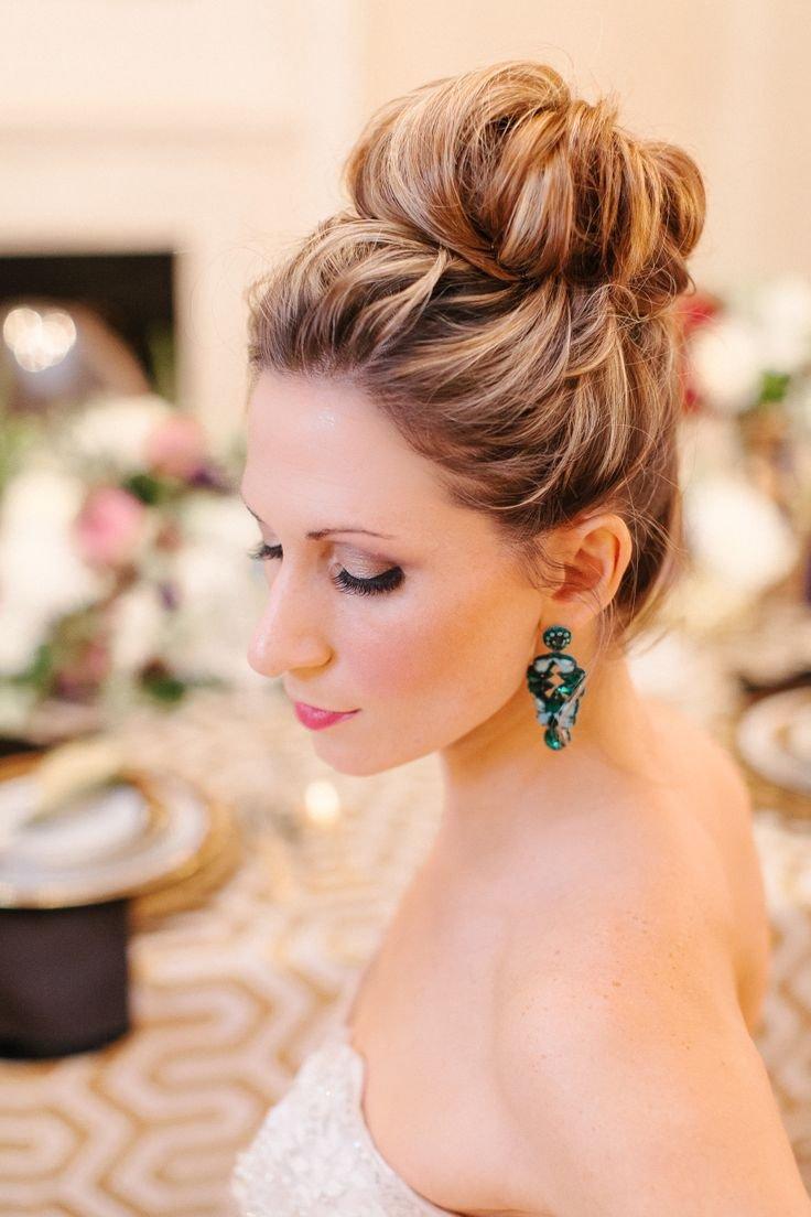 Прическа на свадьбу в картинках