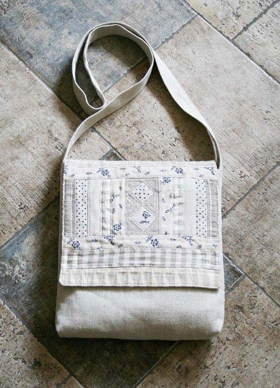 Как сшить сумку своими руками из льна