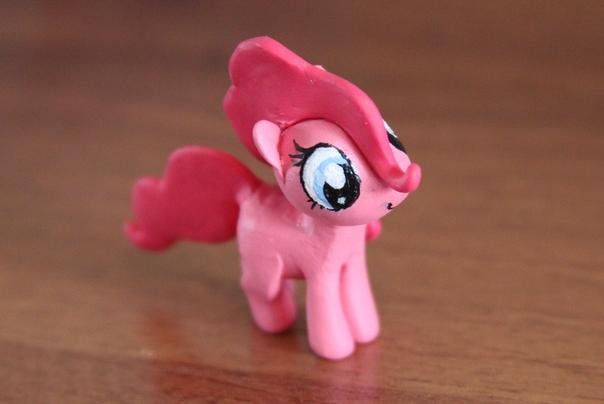 Фото как слепить пони