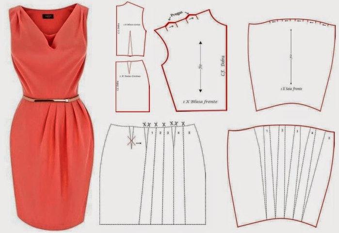 Быстро и красиво сшить платье 79