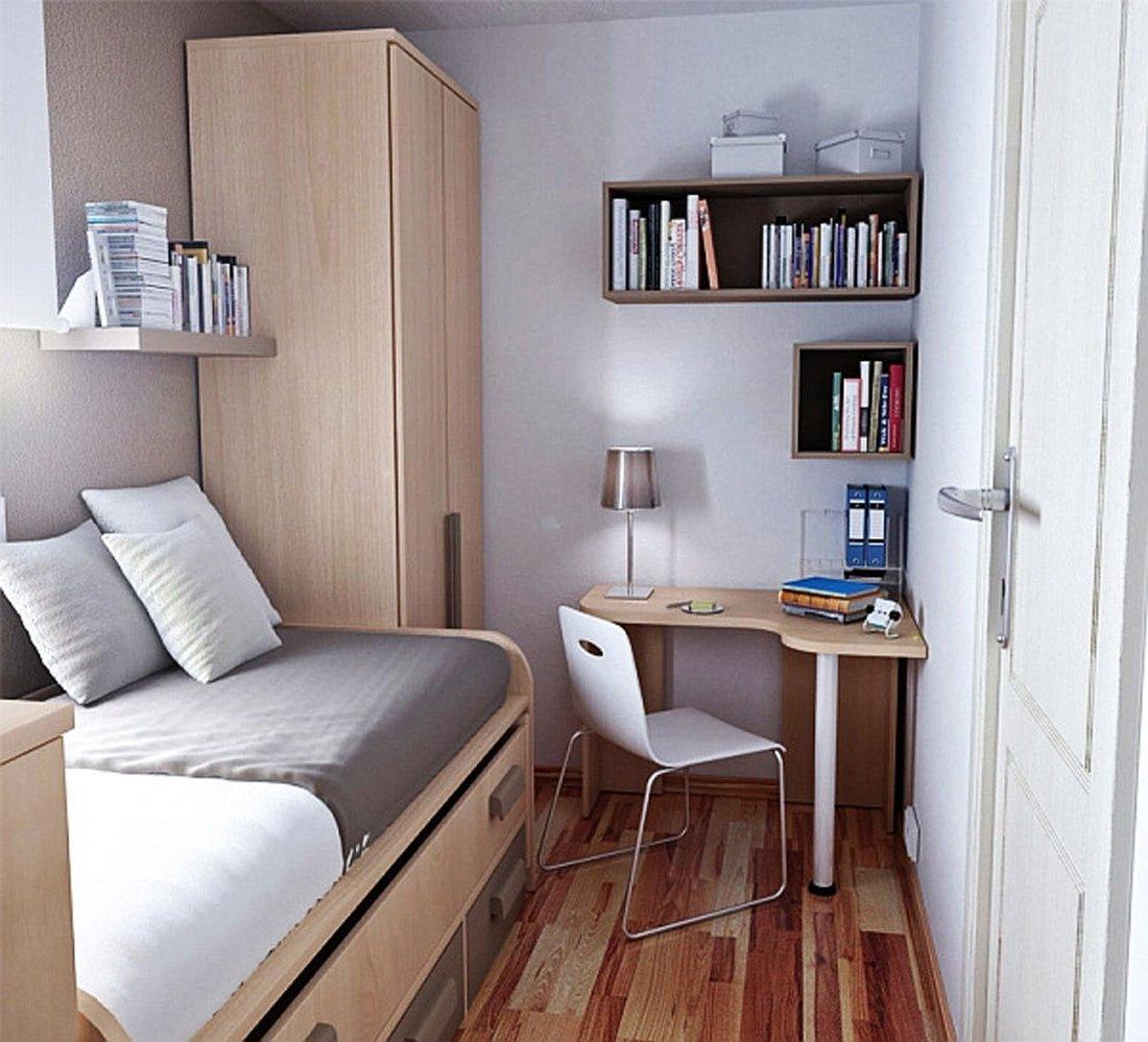 Дизайн своими руками в маленькой комнате