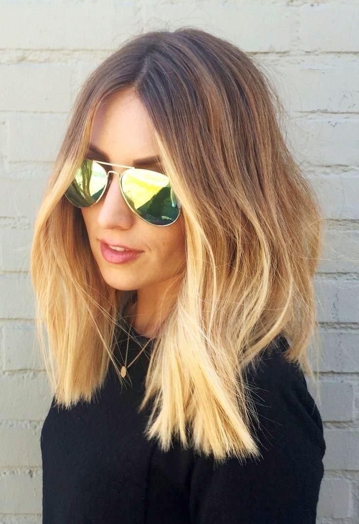 Модные окрашивания 2017 на средние волосы женские за 30