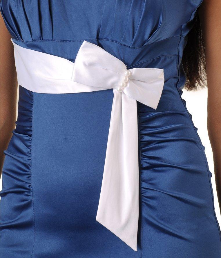 Как сшить платье из атласной ленты 582