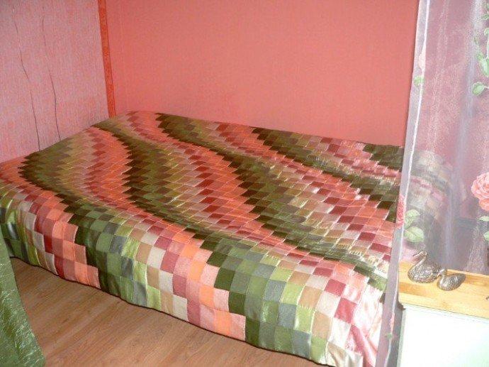 Одеяло из квадратов ткани своими руками 21