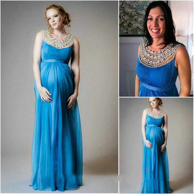 Платье вечернее для беременных своими руками
