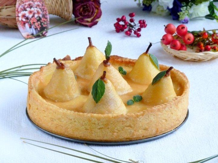 Пирог с грушами в духовке пошаговый рецепт молоко масло
