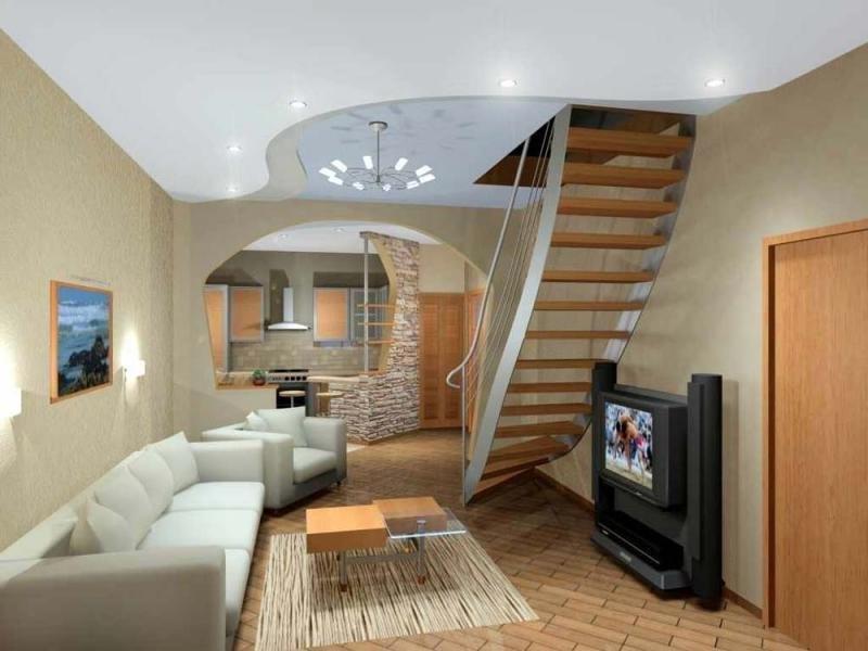 Варианты совмещения балкона и кухни 2го этажа.