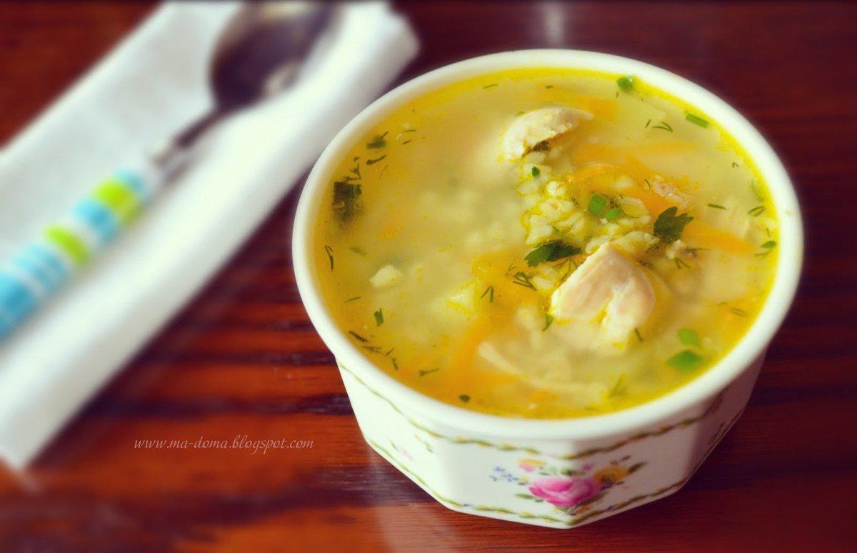 Куриный суп с булгуром рецепт