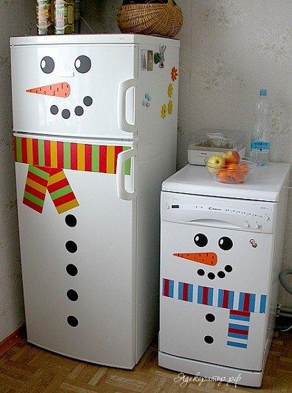 Холодильники декор своими руками