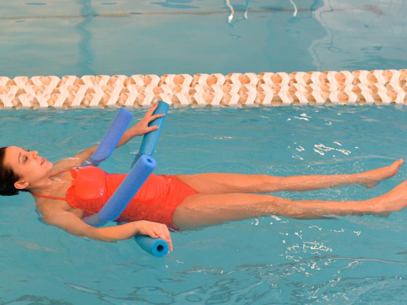 Гимнастика в бассейне для беременных 43