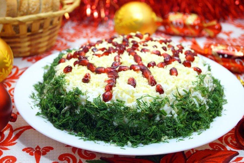 Рецепт с царского салата