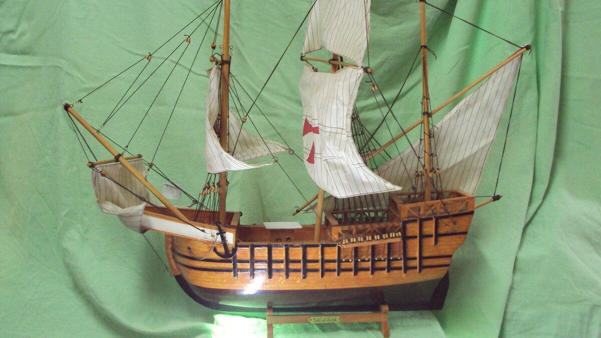 Как сделать парусный корабль из дерева своими руками 15