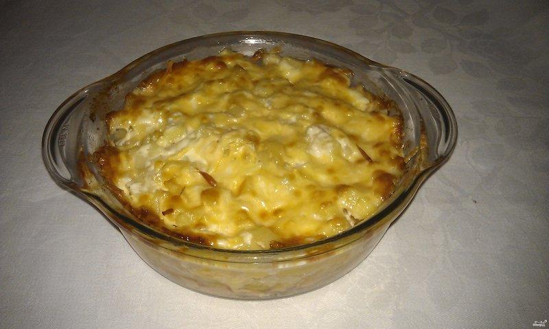 Рецепт запеканки из картофельного пюре