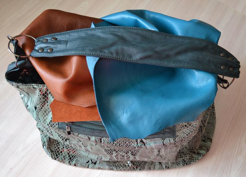 Пошив кожаной сумки своими руками 76
