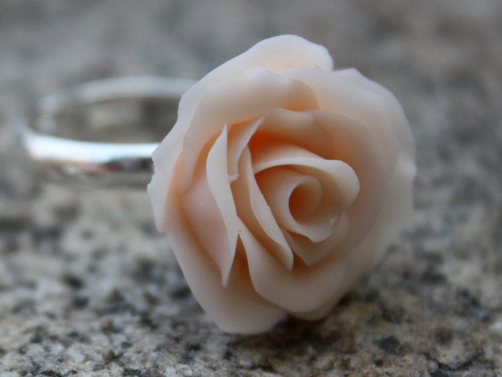 Как сделать кольцо роза 119