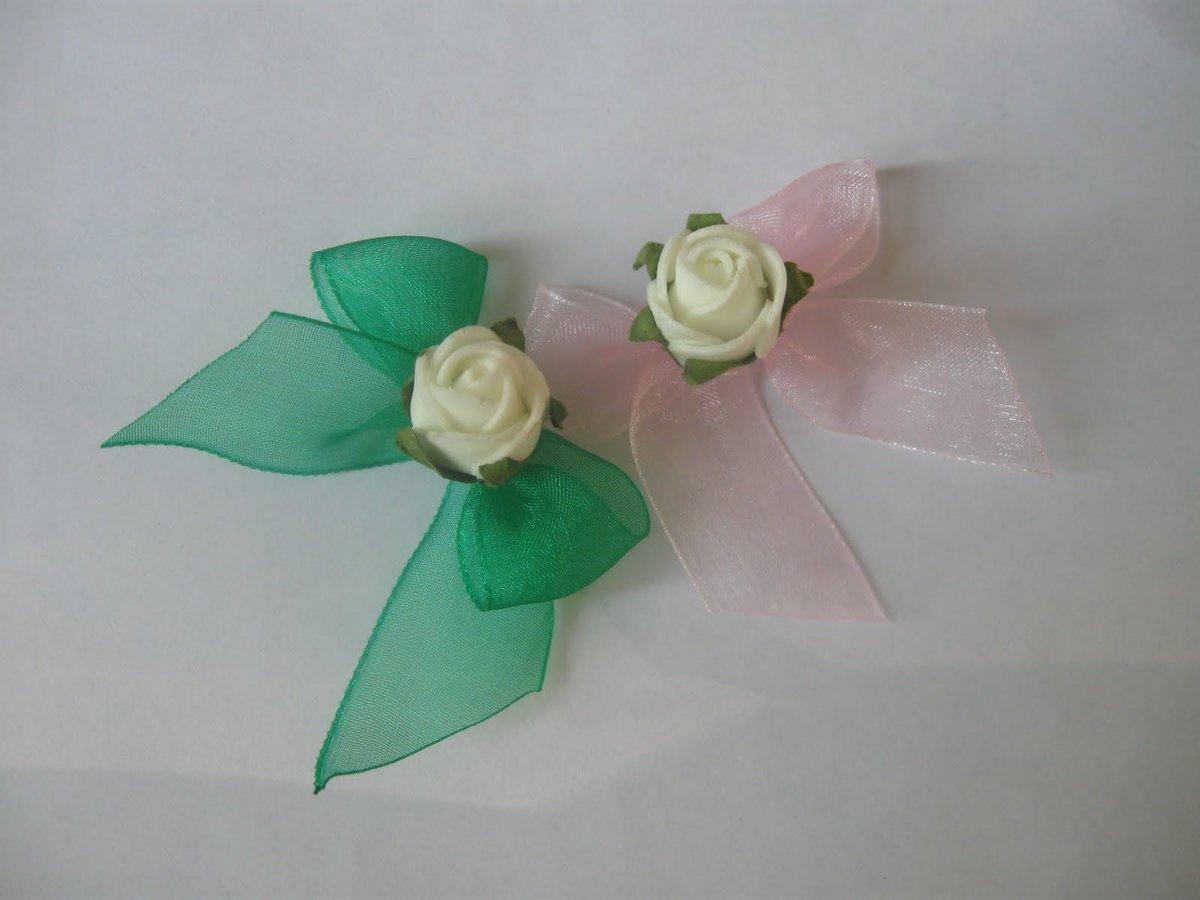 Цветочки на свадьбу для гостей своими руками 31