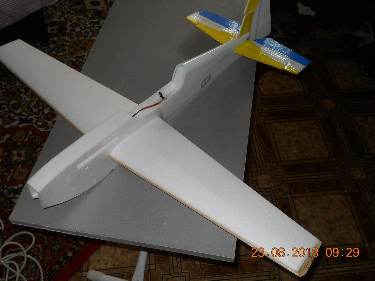 Макет самолёта из пенопласта своими руками 41