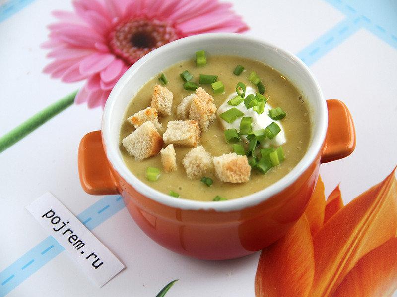 Рецепты суп капуста брокколи