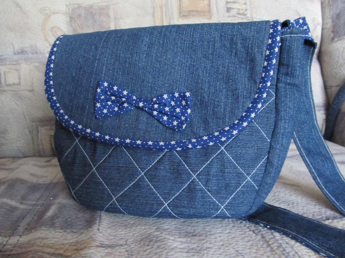 Фото сумки из джинса своими руками выкройка