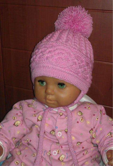 Вязание шапок для детей от 1 до 3 лет 480